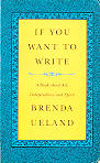 If You Want to Write (book cover)