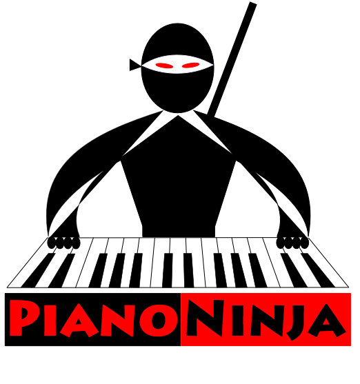 Logo for PianoNinja